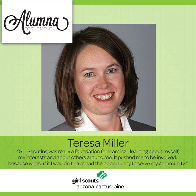 alumna of the month grew up green and living her dreams