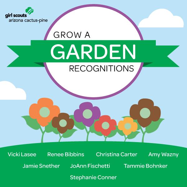 help girl scouts grow a garden