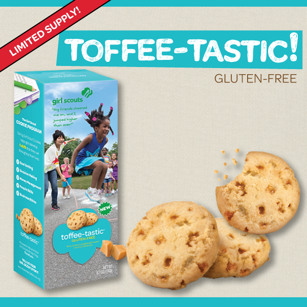 Reasons Why Toffee-tastic Girl Scout Cookies are the perfect gift on