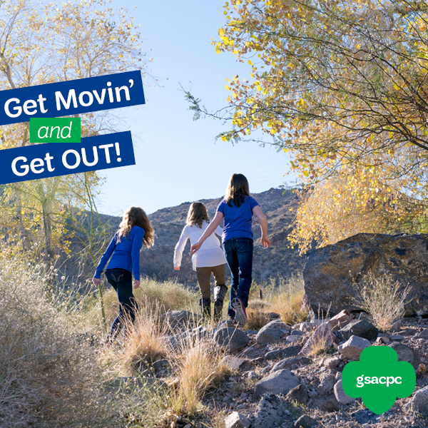 this winter break get out and get active girl scout style