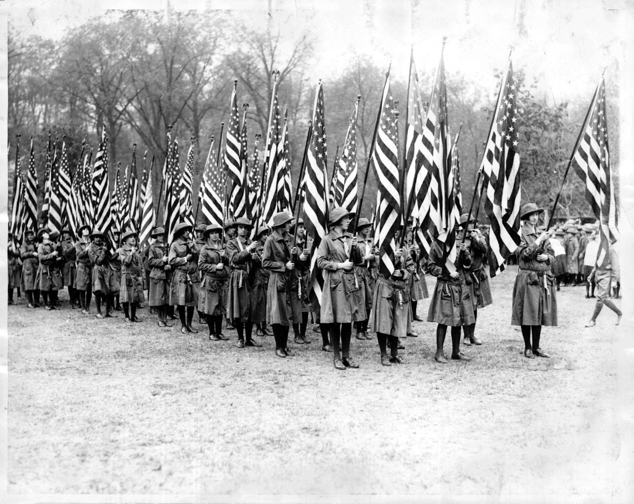 inauguration day reflecting on girl scouts history of